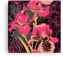 iris flower  Canvas Print