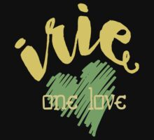 Jamaica Irie  One Love  One Piece - Short Sleeve
