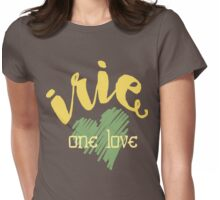 Jamaica Irie  One Love  Womens Fitted T-Shirt
