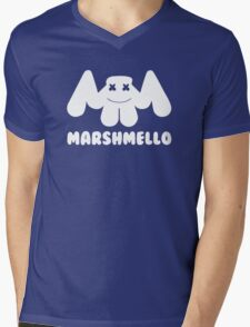 Marshmello Mens V-Neck T-Shirt