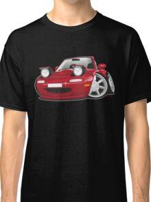 Mazda MX-5 Miata caricature red Classic T-Shirt