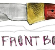 The Front Bottoms- Talon of the Hawk Sticker