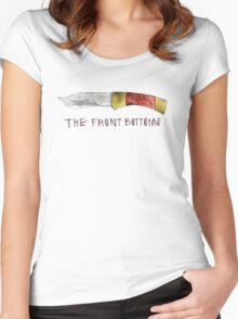 The Front Bottoms- Talon of the Hawk Women's Fitted Scoop T-Shirt