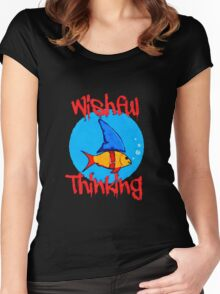 Wishful Thinking (new design) Women's Fitted Scoop T-Shirt