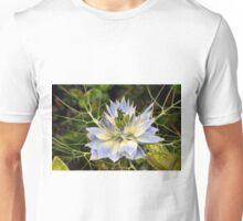 Love-in-a-Mist (Nigella damascena) Unisex T-Shirt