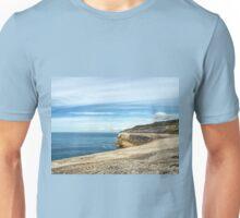 Along The Cobb Wall - Lyme Regis Unisex T-Shirt