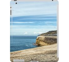 Along The Cobb Wall - Lyme Regis iPad Case/Skin