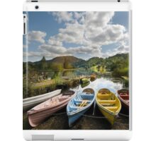 Lazy Day's in the lakes iPad Case/Skin