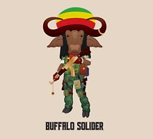 Buffalo Soldier Womens Fitted T-Shirt