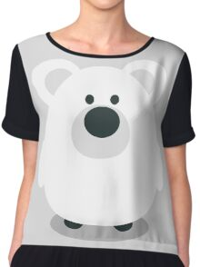 Cute Polar Bear Chiffon Top