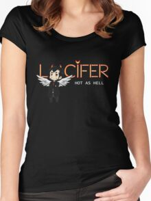 Lucifer Morningstar Women's Fitted Scoop T-Shirt