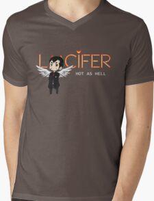 Lucifer Morningstar Mens V-Neck T-Shirt