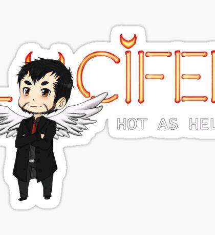 Lucifer Morningstar Sticker