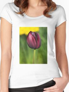 Black Tulip Women's Fitted Scoop T-Shirt