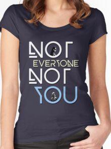 Not everyone not you - Clexa - Clarke and Lexa Women's Fitted Scoop T-Shirt