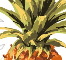 Pineapples Pattern Sticker
