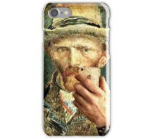 Van Gogh Selfie iPhone Case/Skin