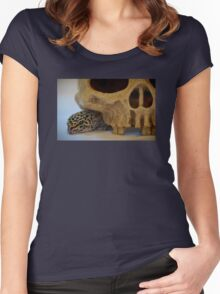Tango the Leopard Gecko Women's Fitted Scoop T-Shirt