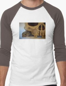 Tango the Leopard Gecko Men's Baseball ¾ T-Shirt