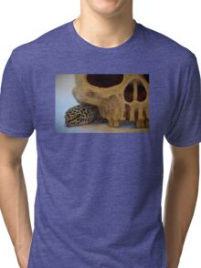 Tango the Leopard Gecko Tri-blend T-Shirt