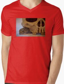 Tango the Leopard Gecko Mens V-Neck T-Shirt