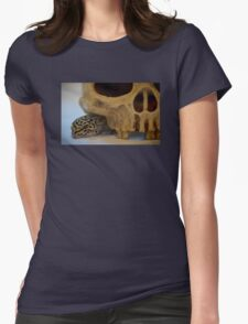 Tango the Leopard Gecko Womens Fitted T-Shirt