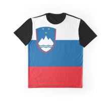 Slovenia flag Graphic T-Shirt