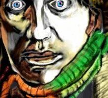 Dr. Who Tom Baker Sticker