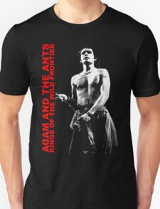ADAM AND THE ANTS Kings Of The Wild Frontier Unisex T-Shirt