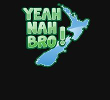 YEAH NAH BRO! with New Zealand MAP Unisex T-Shirt