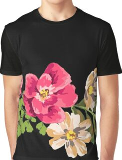 Vintage Flower Graphic T-Shirt