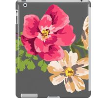 Vintage Flower iPad Case/Skin