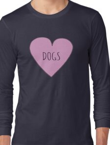 DOG LOVE Long Sleeve T-Shirt