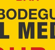 La Bodeguita Del Medio Habana Cuba Sticker
