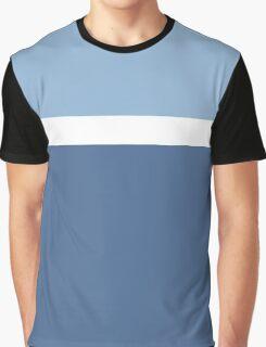 Simple Modern Duotone Airy Blue vs Riverside Fall 2016 Graphic T-Shirt