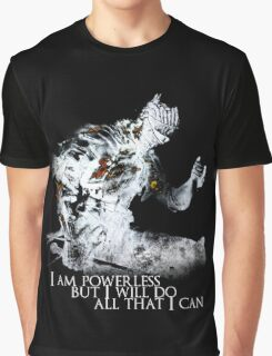 All i can - White Graphic T-Shirt
