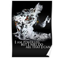 All i can - White Poster
