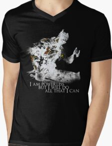 All i can - White Mens V-Neck T-Shirt
