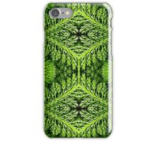 Fractal Fronds of Green iPhone Case/Skin