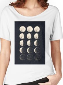 Moon Cycle Women's Relaxed Fit T-Shirt