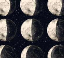 Moon Cycle Sticker