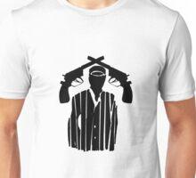 Guns on Head Unisex T-Shirt