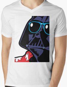 POP ART Dark Vador Mens V-Neck T-Shirt
