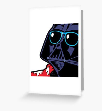 POP ART Dark Vador Greeting Card