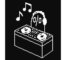 Napstablook DJ Pixel Arts Photographic Print