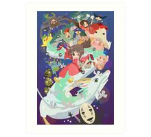 Spirited Away - Hooray Art Print