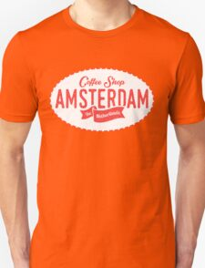 Coffee Shop Amsterdam Logo T-Shirt