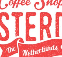 Coffee Shop Amsterdam Logo Sticker