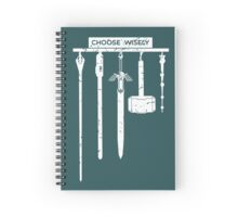Choose Wisely Spiral Notebook