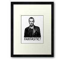 Doctor Who - Fantastic! - 9th Doctor Framed Print